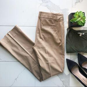 J. Crew Tan Boot Cut Dress Pants